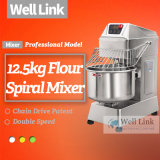 mezclador espiral del mezclador/del pan de la amasadora de la harina 12.5kg/de pasta de la panadería