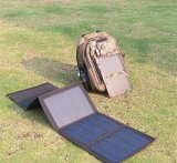 20W para telefone celular iPad livro elétrico dobrável saco de carregador de energia solar