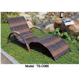 Rattan Leisure Patio Outdoor Dining modern Ling Bed for Garden