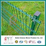 庭の装飾用の二重ループ金網の塀の/Doubleの金網のパネル