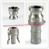 Accoppiamenti rapidi dell'acciaio inossidabile di tipo CC