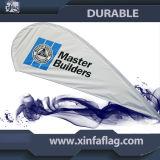 polyester 110g 100% Outdooor fait sur commande annonçant le drapeau d'indicateur de clavette