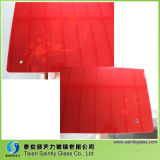 5mm Toughened (tempered) Decorative Glass Panel для Warm Air Blower с Red Printing