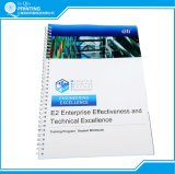 B / W Printing Wire Binding Impressão manual