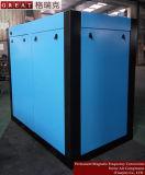 Aplicación industrial de alimentos de tornillo de rodadura doble compresor de aire