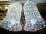 Campana de luz LED Motif vacaciones luces decorativas para la decoración de Navidad