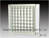 Лучшая цена 190мм*190мм*80мм стекло из кирпича для строительства или искусства
