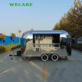 스테인리스를 가진 전기 이동할 수 있는 음식 트럭