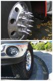 ABS van het Chroom van de Vrachtwagen van 33mm de Zware Decoratieve Purpere Reflectors van de Dekking van de Noot van het Handvat van de Stijl van de Flens van de Versiering van het Wiel van de Dekking