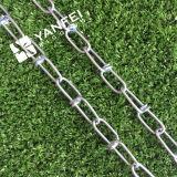 Покрынная цинком завязанная цепь соединения DIN5686 для собаки