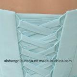 Heimkehr-Kleider falteten kurzes neues sich schnüren oben rückseitiges Abschlussball-Kleid