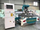 Router CNC 1325 de aço de metal inoxidável máquina de corte de alumínio