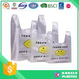 Langlebiges Gut danken Ihnen Plastiktaschen für Lebensmittelgeschäft