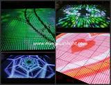 Танцевальная площадка света портативная чувствительная взаимодействующая СИД звезды панелей