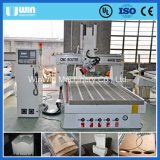 CNCのルーターの木工業機械を製粉する4axis 3Dの木版画Aliuminum