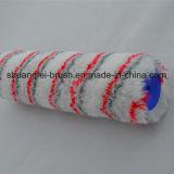 Rouleau de peinture thermique acrylique d'adhérence de piste rouge et grise