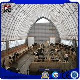 Casa prefabricada de la estructura de acero para los edificios agrícolas de la vaca de acero
