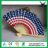 El papel de bambú Best-Seller Promoción Ventilador para publicidad