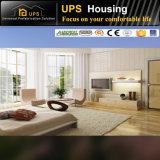 80m2 두 배 지면 또는 수준 3 침실 집 Prefabricated 가격