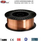 Shandong-fester Fabrik-Schweißen Consumbles CO2 Schweißens-Draht Aws Er70s-6