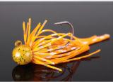 Attrait principal rond de gabarit avec la tête de gabarit d'attrait de pêche de jupe