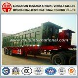 3 assi elevano il Auto-Dumping/rimorchio del ribaltatore semi per il trasporto di carico pesante