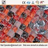 Стены плиткой и стеклянной мозаики