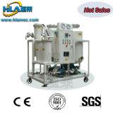 Machine utilisée transportable de filtration d'huile hydraulique de vide de Tvp