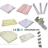 Painel de teto de PVC de cor clara em madeira 5 * 200mm