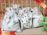Sacchetto di stringa del cotone dell'imballaggio del regalo di promozione del sacchetto del cotone
