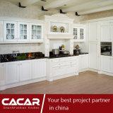 Во Флоренции Европейского белый моды ПВХ кухонные шкаф (CA14-02)