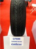 Neumático de coche radial del HP del neumático de la polimerización en cadena con el ECE