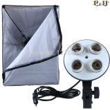 """Iluminação fotográfica lâmpada de 4 soquetes com 20""""x28""""Softbox para fotografia digital acessórios de estúdio fotográfico Pscsb4"""
