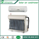 9000BTU refroidissant et chauffant le climatiseur fendu de mur solaire hybride