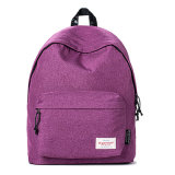 Vente en gros tissée de sac à dos de logo d'étiquette
