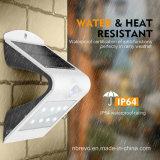 Licht van de Muur van de Veiligheid van de Sensor van de Motie van het Bewijs van het water het Zonne (RS2015)