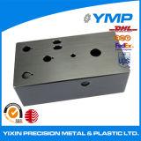 Láser CNC de aluminio componente blanqueado parte personalizado