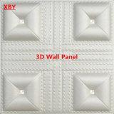Панели панели стены 3D PU панель кожаный декоративной акустическая