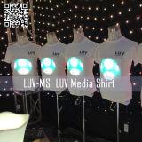 Tee-shirts /programmables à LED EL Chemises d'éclairage