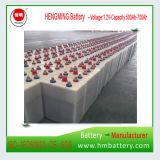 Batería Ni-CD níquel- militar de la calidad 1.2V 500ah para la subestación