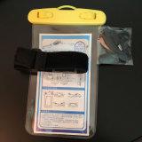 安いユニバーサル腕章PVC防水電話袋