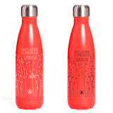 9 de Fles van de Sport van de Fles van het Water van het Roestvrij staal van oz zwelt Fles