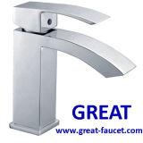 Robinet de lavabo de salle de bain carré (GL5701A57)