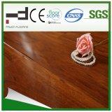 plancher rouge-foncé de stratifié de surface de foulage de la CE de 8mm