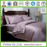 Elegante de alta calidad en microfibra Color puro juego de hojas con cama de hotel / Adultos / textil hogar Ropa de cama