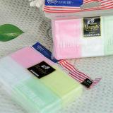 La calidad de la barra de jabón de lavandería con diferente color