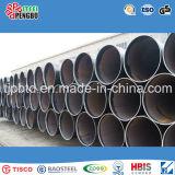 Tubo e tubos redondos de aço carbono carbono soldado com ERW