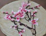Accessoires du vêtement de couleur Patch Broderie fleur Ym-1-1