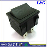 ENEC/UL承認力16A Dpdtのマイクロロッカーのかいボタンスイッチ