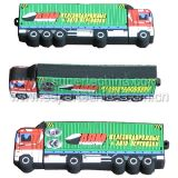 Silicone Truck Shaped Gift USB Flash Drive (S1A-7111C)